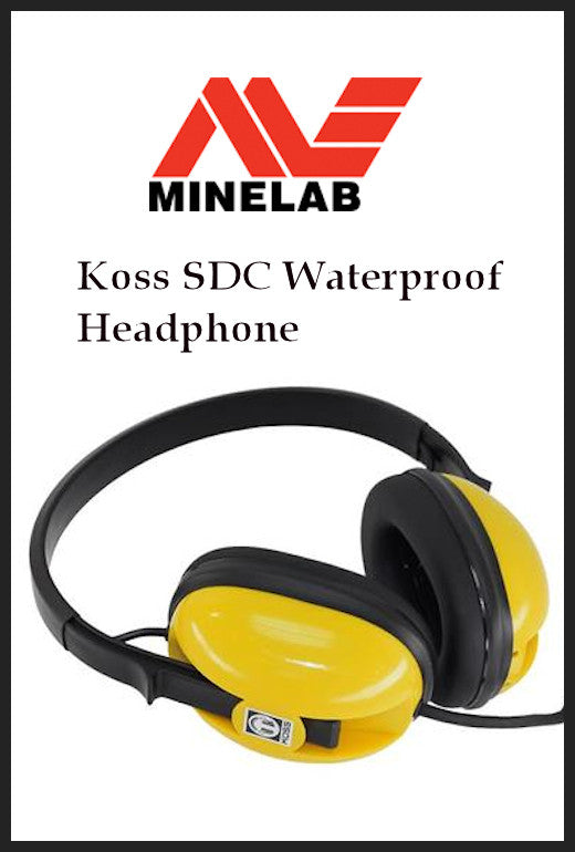 KOSS Minelab SDC 2300 Headphone Waterproof