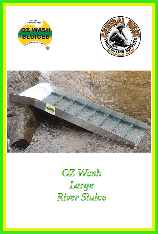OZ Wash Large River Sluice