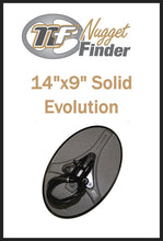 "Nugget Finder Evolution 14"" x 9"" Elliptical Coil - Solid"