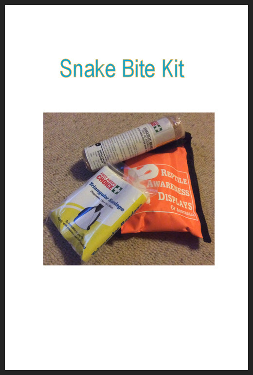 Snake Bite First Aid Pouch