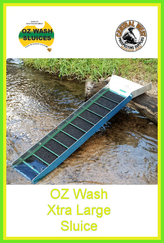 OZ Wash XLarge River Sluice