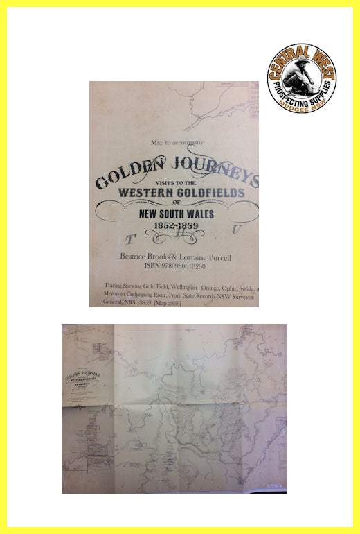 Golden Journeys Map