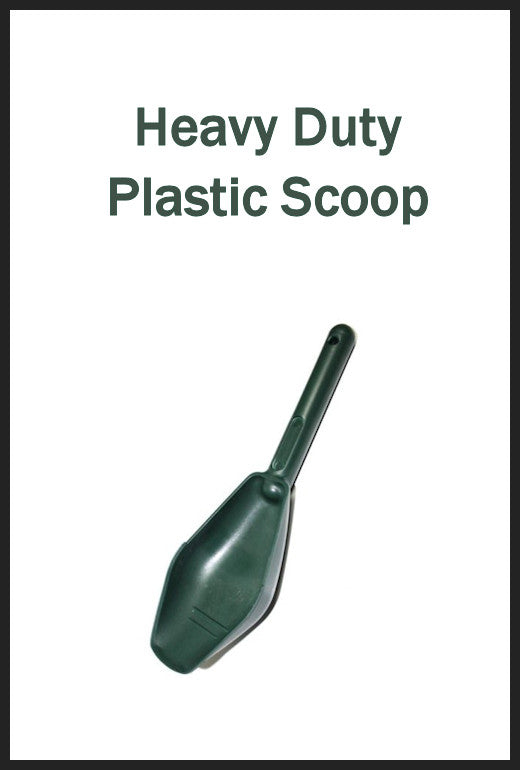 Heavy Duty Plastic Nugget Scoop Trowel