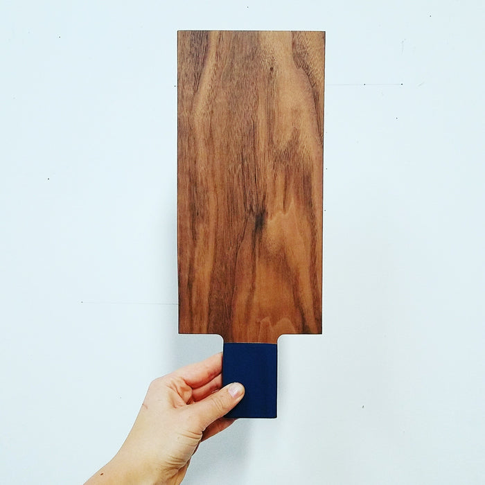 moderate tray: walnut/ink