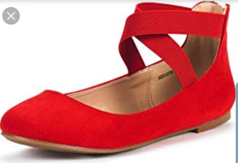 Ballet Flats Red - Rockin Bettie