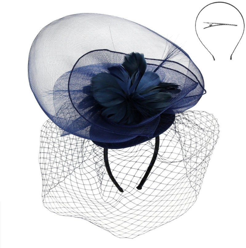 Fascinator Hat with Birdcage