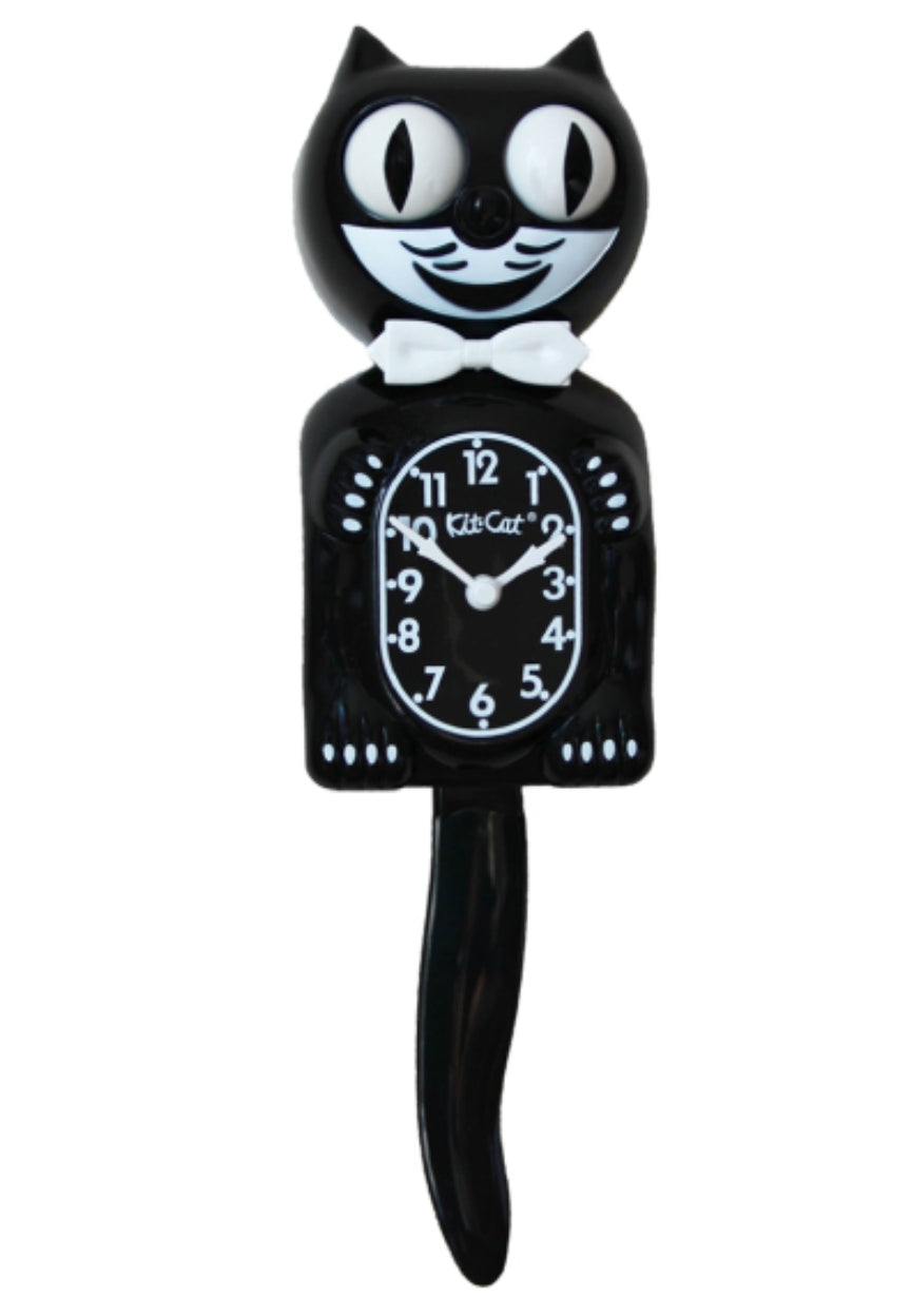 Kitty Kit cat clock - Rockin Bettie