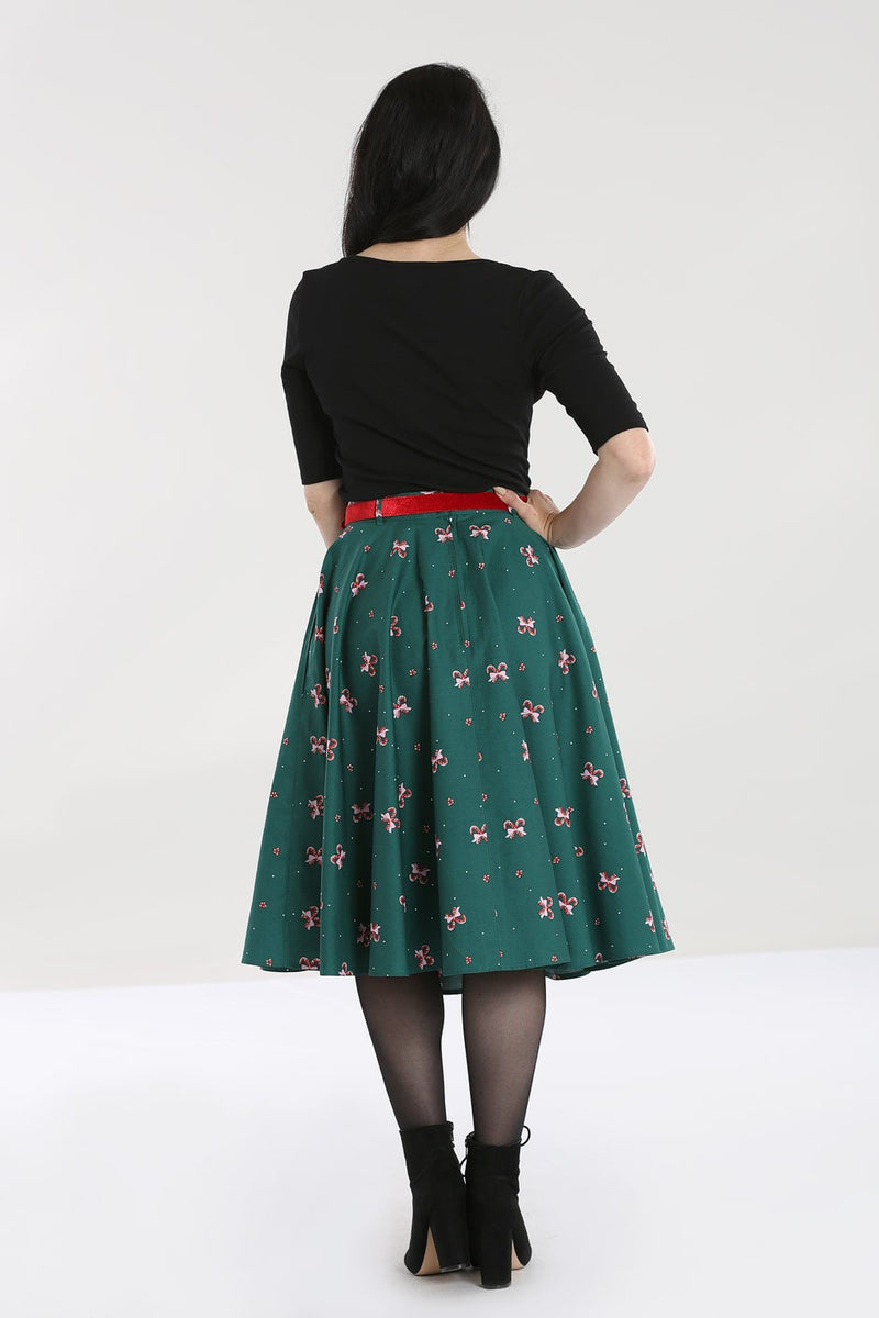 Beth 50s Christmas skirt