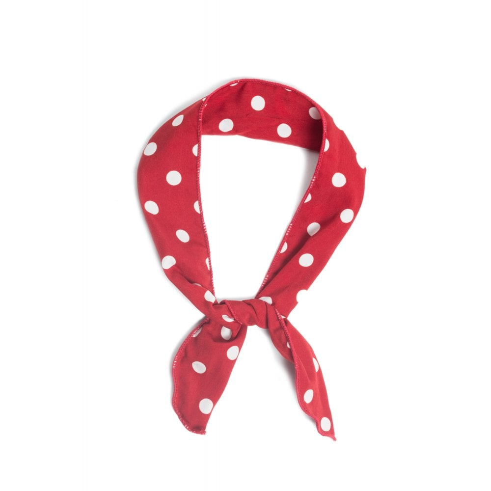 Polka dot wired headbands
