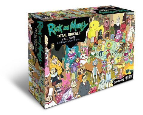 Rick and Morty Total Rickall Cooperative Card Game [FREE SHIPPING]