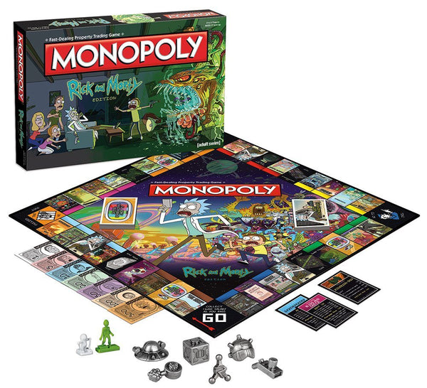 Rick and Morty Monopoly Board Game [FREE SHIPPING FOR LIMITED PERIOD]