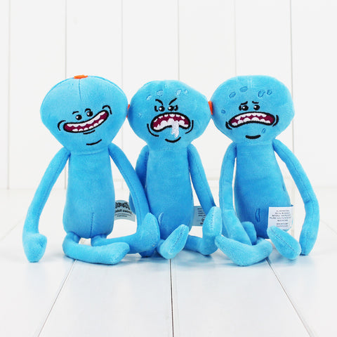 Official Rick And Morty Happy & Sad Meeseeks Plush Stuffed Toy - [FREE]