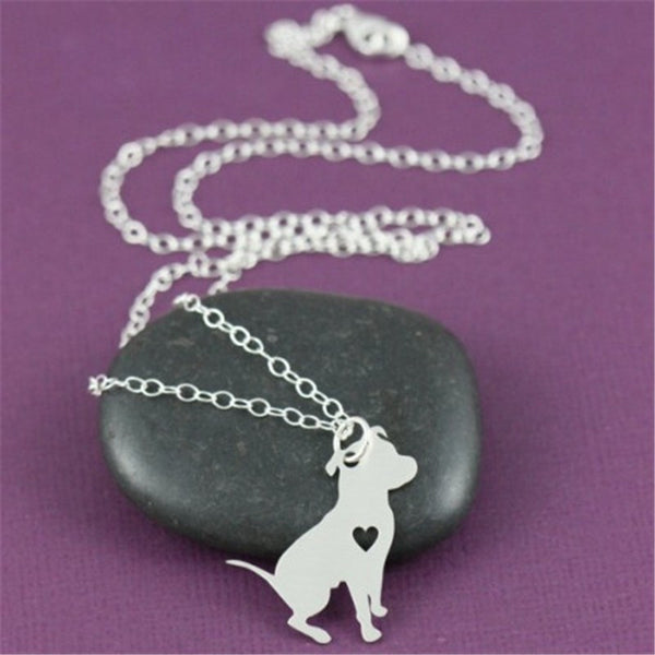 FREE - Pit Bull Heart Necklace