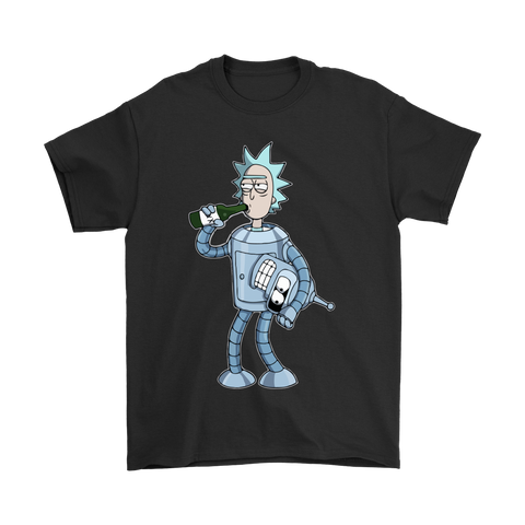 BendeRick [Futurama & Rick and Morty Fusion]