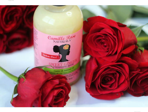 CAMILLE ROSE NATURALS SWEET GINGER CLEANSING RINSE 12oz