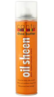 CANTU OIL SHEEN DEEP CONDITIONING SPRAY