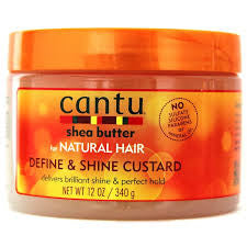 Cantu Define & Shine Custard 12oz