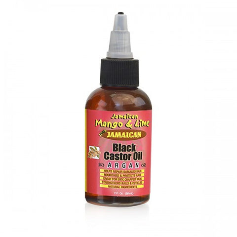 Jamaican Mango & Lime Jamaican Black Castor Oil ARGAN 2oz