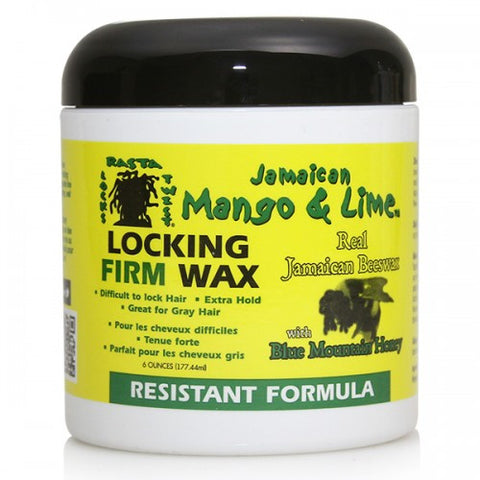 JAMAICAN MANGO & LIME LOCKING FIRM WAX 6OZ