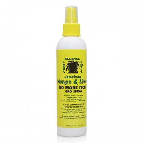 JAMAICAN MANGO & LIME NO MORE ITCH GRO SPRAY 8OZ