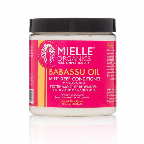 Mielle Organics Babassu Oil & Mint Deep Conditioner 8oz