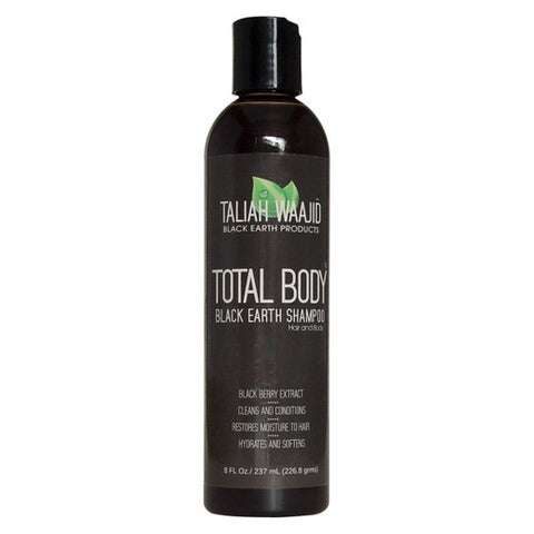 Taliah Waajid-Total Body Natural Black Earth Shampoo 8oz