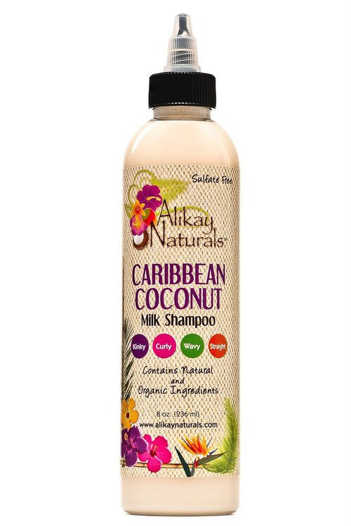 Alikay Caribbean Coconut Milk Shampoo 8oz