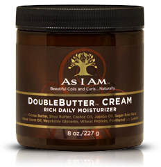 AS I AM DOUBLEBUTTER RICH MOISTURIZER 8OZ