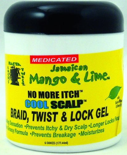 JAMAICAN MANGO & LIME NO MORE ITCH COOL SCALP 6oz