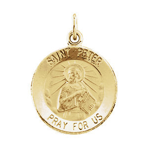 St. Peter the Apostle Medal Necklace or Pendant