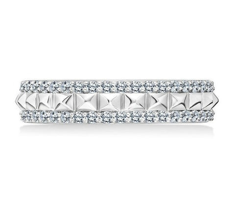 Karl Lagerfeld Pyramid Eternity Band