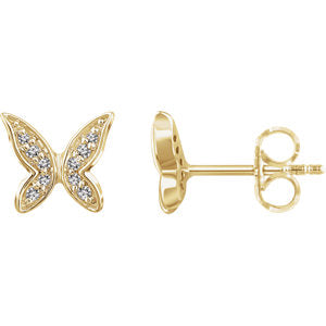 Youth Butterfly Earrings