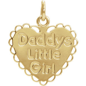 "Youth ""Daddy's Little Girl"" Necklace or Pendant"