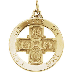 St. Christopher Four-Way Medal