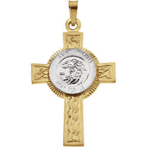 St. Michael Cross Pendant