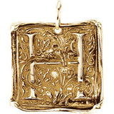 Posh Mommy® Vintage-Inspired Initial Pendant