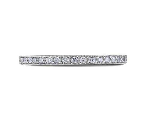 Scott Kay 14k White Gold and Diamonds Wedding Band