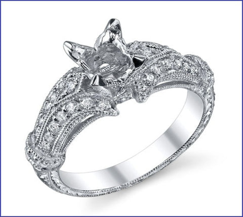 Gregorio Diamond Band Engagement Ring