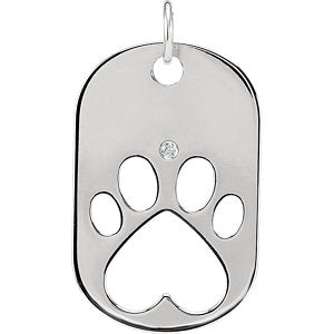 Our Cause for Paws™ Dog Tag Necklace