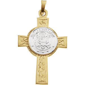 U.S. Army Cross Necklace or Pendant