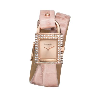 Isadore Rose Gold-Tone and Pink