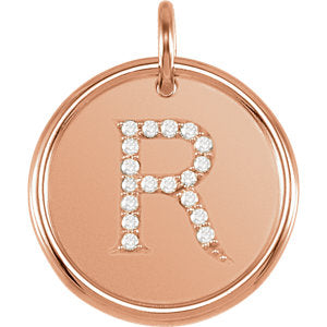Posh Mommy® Initial Necklace or Pendant