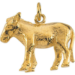 Nativity Donkey Pendant