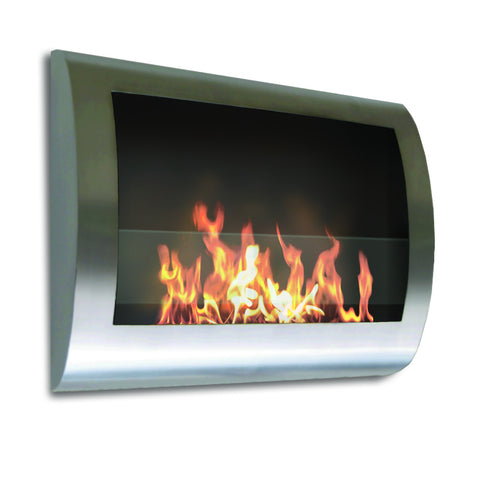 Order the Anywhere Fireplace Chelsea Indoor Wall Mount - Stainless Steel today from The Indoor Fireplace Store. FREE Shipping over $99.