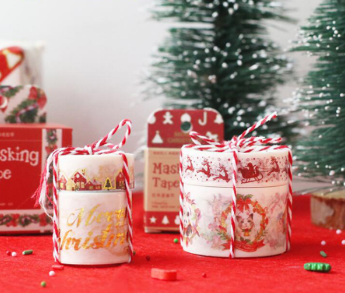 Festive Christmas Washi Tapes