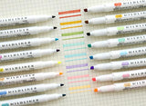 Zebra Mildliner Double-Sided Highlighter / Pen (5 Color Set)