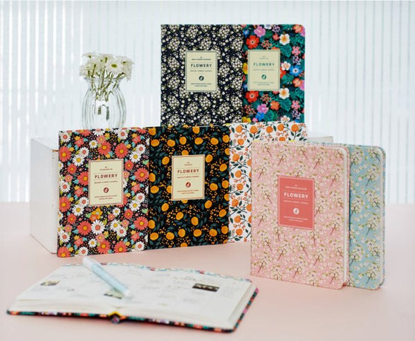 Ardium Flowery Journal (4 Designs)