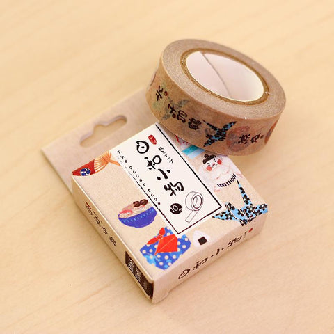 Light Brown Washi Tape
