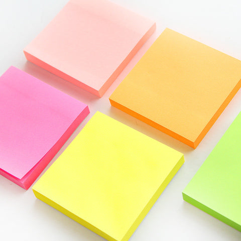 100 Sheets Macaron Sticky Notes