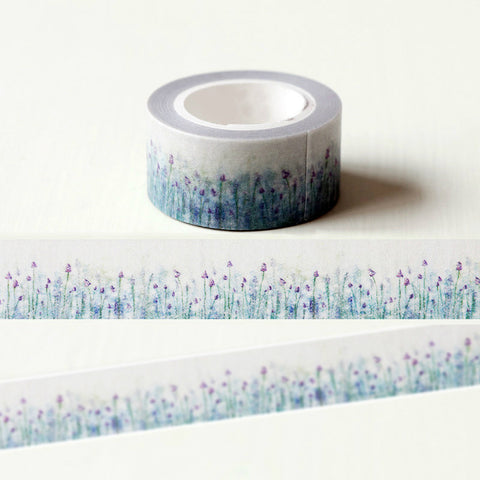 Purple Lavender Washi Tape